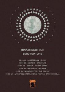 Minami Deutsch: EU tour and new single from the krautrock group