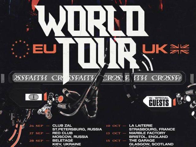Crossfaith announces another EU tour, their first European headliner tour in years!