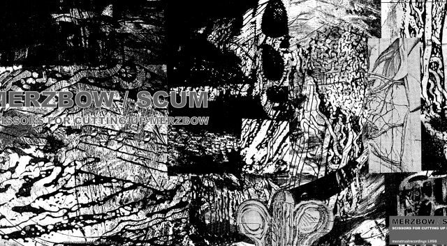 Merzbow's SCUM project re-issued on vinyl and CD!