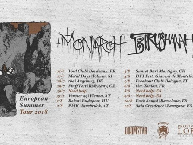 Birushanah releases new album and teams up with Monarch for a European tour!