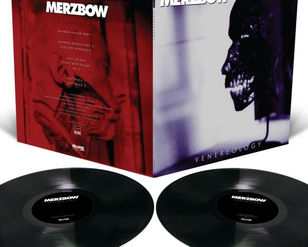 Merzbow's classic Venereology reissued on vinyl for the first time!