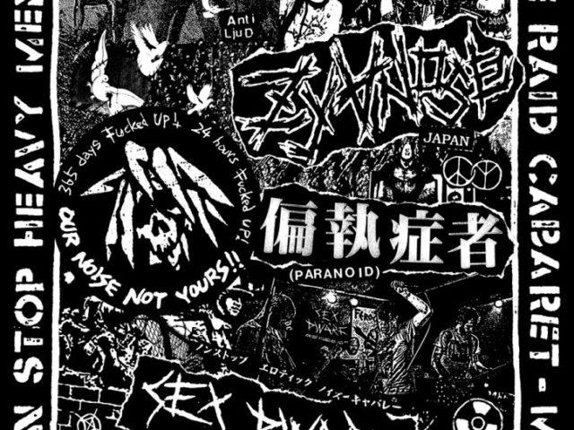 Osaka punk / crust band Zyanose is touring Europe… right now!