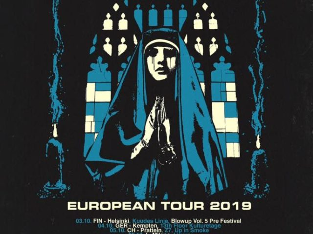 Church Of Misery: European tour in October!