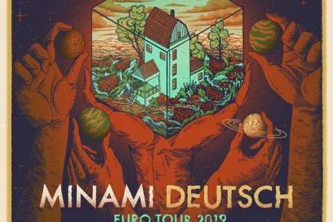 Minami Deutsch drops a new 12″ EP and returns to Europe!