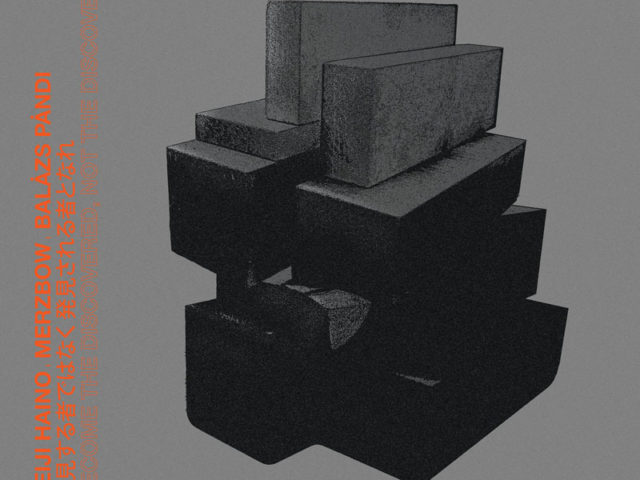 Merzbow, Keiji Haino and Balázs Pándi teamed up for a new album out late September!