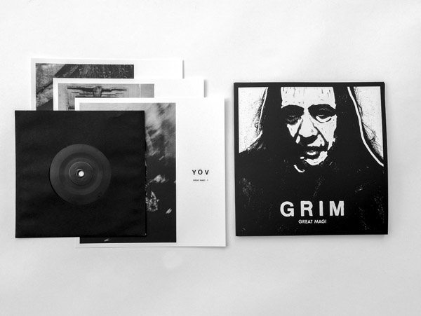 New limited 7″ release from GRIM on Ant-Zen!