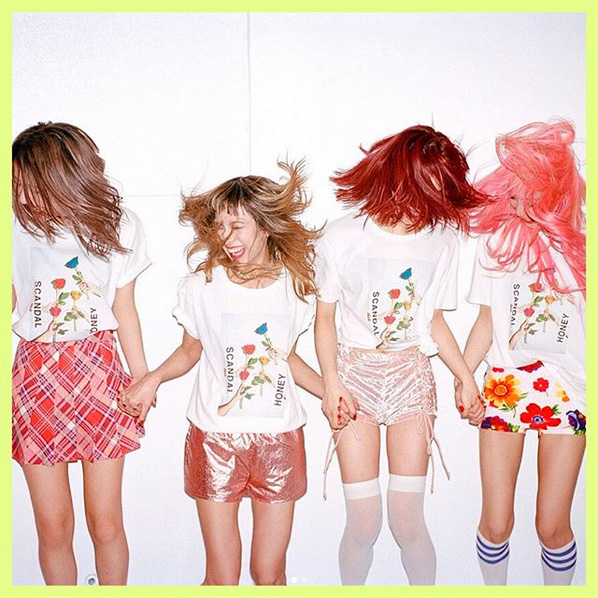 Scandal: Honey – new album out in February! – Japan Vibe